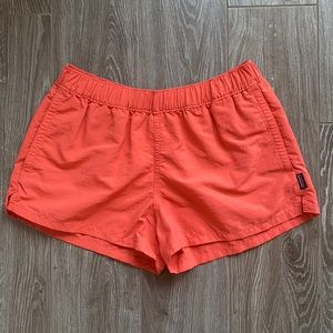 Patagonia barely baggies shorts in cave coral
